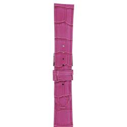 Kožni kaiš 22mm Roze boja 22.177