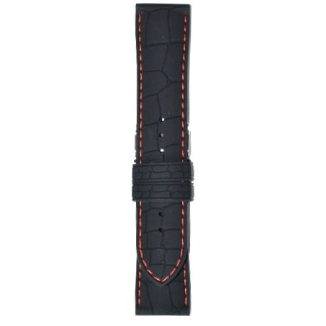 Silikonski kaiš - SK46/3 Crna boja 24mm