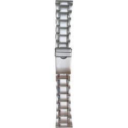 Metalni kaiš - MK25 Srebrni 18mm
