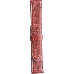 Kožni kaiš 24mm (Eko koža) Crvena boja