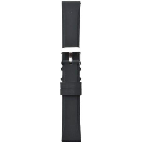 Silikonski kaiš - SK1/1 Crna boja 18mm