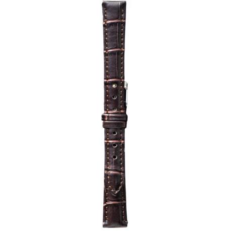 Kožni kaiš 14mm (Eko koža) Tamno Braon boja