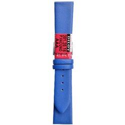 Kožni kaiš Diloy DIL301.16 Indigo plava boja