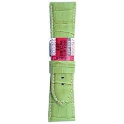 Kožni kaiševi Široki Diloy DIL-EA378.11 Svetlo zelena boja