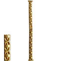 Metalni kaiš zlatni - ZMK-212 Zlatni 14mm