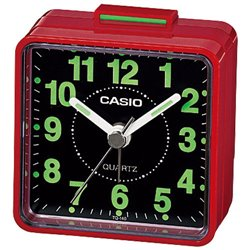 Budilnik Casio Stoni TQ140-4 Crvena