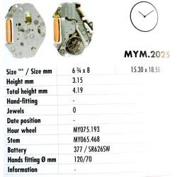 MIYOTA 2025