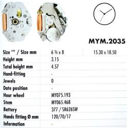 MIYOTA 2035