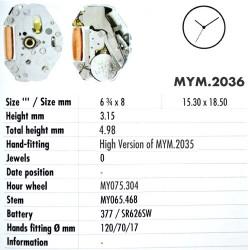 MIYOTA 2036