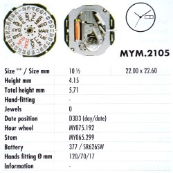 MIYOTA 2105