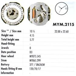 MIYOTA 2115