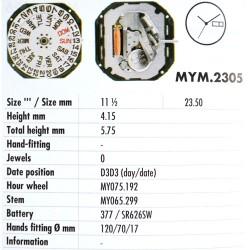 MIYOTA 2305