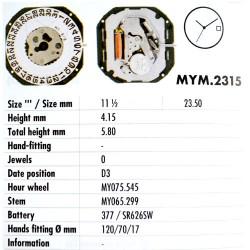 MIYOTA 2315