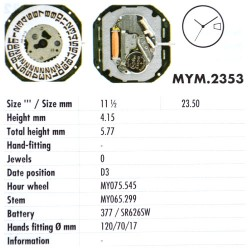 MIYOTA 2353