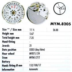 MIYOTA 8205