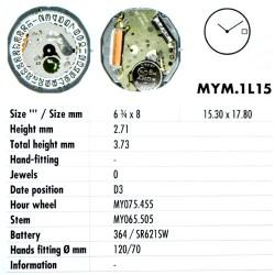 MIYOTA 1L15