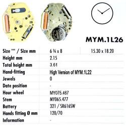 MIYOTA 1L26