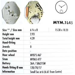 MIYOTA 1L45