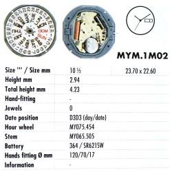 MIYOTA 1M02