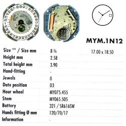MIYOTA 1N12