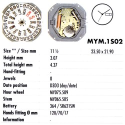 MIYOTA 1S02