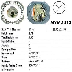 MIYOTA 1S13