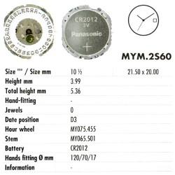 MIYOTA 2S60
