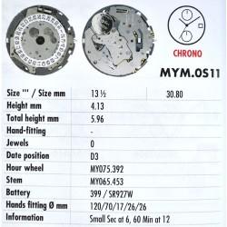MIYOTA OS11