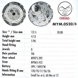 MIYOTA OS20 - D6