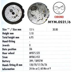 MIYOTA OS21 - 6