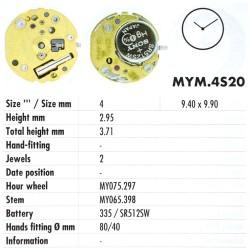 MIYOTA 4S20