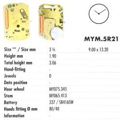 MIYOTA 5R21