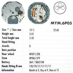 MIYOTA 6P05
