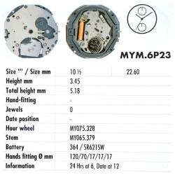 MIYOTA 6P23