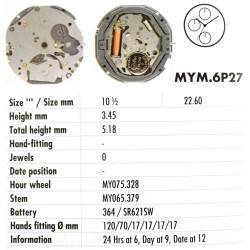 MIYOTA 6P27