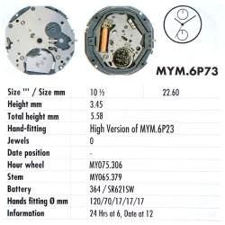 MIYOTA 6P73