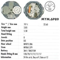 MIYOTA 6P89