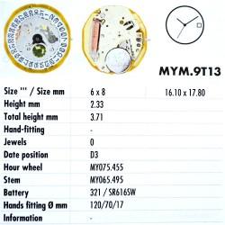 MIYOTA 9T13