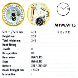 MIYOTA 9T15
