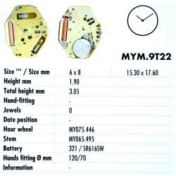MIYOTA 9T22