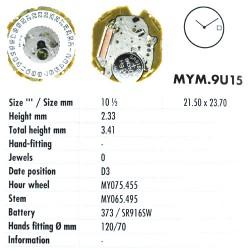 MIYOTA 9U15