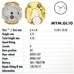 MIYOTA GL10