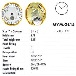 MIYOTA GL15