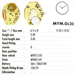 MIYOTA GL20