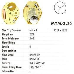 MIYOTA GL30