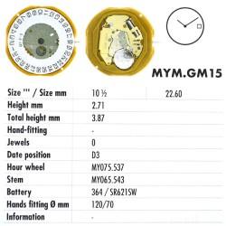 MIYOTA GM15
