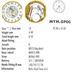 MIYOTA GP00
