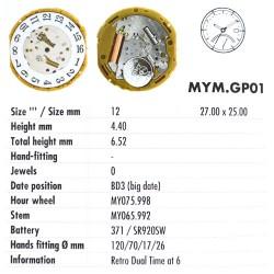 MIYOTA GP01