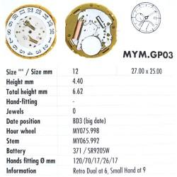 MIYOTA GP03