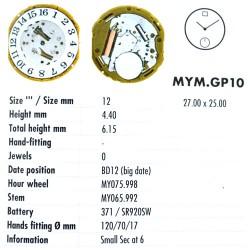 MIYOTA GP10